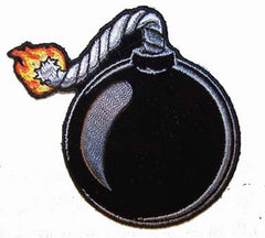 BURNING BOMB BALL PATCH (Sold by the piece)