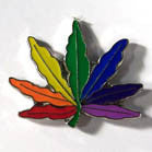 MULTIPLE COLOR POT HAT / JACKET PIN (Sold by the piece or  dozen)