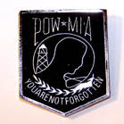 POW MIA HAT / JACKET PIN (Sold by the dozen)