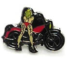 BIKER B BIKE HAT / JACKET PIN (Sold by the piece)