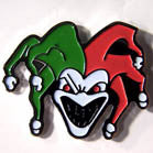 SCARY JESTER HAT / JACKET PIN (Sold by the dozen) * CLOSEOUT NOW 50 CENTS EA