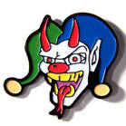 CLOWN WITH HORNS HAT / JACKET PIN (Sold by the dozen) * CLOSEOUT NOW ONLY 50 CENTS EA