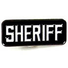 SHERIFF HAT / JACKET PIN (Sold by the dozen) *- CLOSEOUT NOW 75 CENTS EA