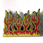 FLAMES HAT / JACKET PIN (Sold by the dozen) CLOSEOUT 75 CENTS EA