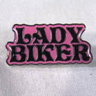 LADY BIKER HAT / JACKET PIN (Sold by the dozen) *- CLOSEOUT 50 CENTS EA