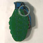 HAND GRENADE HAT / JACKET PIN  (Sold by the dozen) *- CLOSEOUT NOW 75 CENTS EA