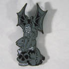 GARGOYLE HAT / JACKET PIN  (Sold by the dozen) ** CLOSEOUT NOW ONLY 50 CENTS EA