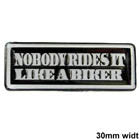 NOBODY RIDES IT HAT / JACKET PIN  (Sold by the dozen)