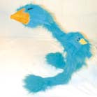LARGE FUZZY BIRD WITH BABY ON BACK  & LIGHT UP  EYES (Sold by the piece) -* CLOSEOUT $2.50 EACH