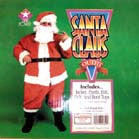 PLUSH SANTA COMPLETE SUIT (Sold by the piece) -* CLOSEOUT NOW ONLY $50 EA