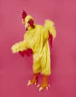 ADULT CHICKEN YELLOW SUIT (Sold by the piece)