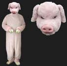 ADULT PIG COSTUME SUIT (Sold by the piece)