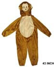 KIDS MONKEY COSTUME (Sold by the piece) -* CLOSEOUT $7.50 EA