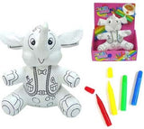 COLOR & WASH ELEPHANT (Sold by the piece) -* CLOSEOUT $ 3.50 EA