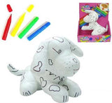 COLOR & WASH DOG (Sold by the piece) -* CLOSEOUT $ 2.50 EA