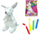 DRAW ON COLOR & WASH KANGAROO (Sold by the piece) -* CLOSEOUT NOW ONLY $ 1.95 EA