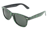 MARIJUANA POT LEAVES FRAME SUNGLASSES ( sold by the dozen or piece )