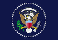 PRESIDENTS SEAL EAGLE SHIELD 3' X 5' FLAG (Sold by the piece)