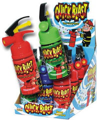 QUICK BLAST FIRE EXTINGUISHER CANDY  ( sold by the dozen)
