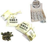 FOOLS GOLD NUGGETS (Sold by the dozen bags)