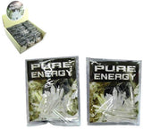 PURE ENERGY CRYSTALS BULK (Sold by the piece or dozen packages ) CLOSEOUT NOW $ 1.50 EA