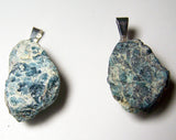 APATITE ROUGH NATURAL MINERAL STONE PENDANT (sold by the piece or bag of 10 )