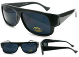 CHELLO BIKER SUNGLASSES WITH DARK LENSE (Sold by the piece or dozen)