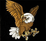 LANDING FLYING EAGLE SHORT SLEEVE  TEE-SHIRT (Sold by the piece) * CLOSEOUT $ 3.95 EA