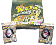 HATCHING & GROWING MAGIC SNAKE EGGS (Sold by the piece or dozen)