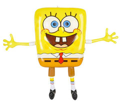 SPONGEBOB INFLATE 24 INCH INFLATABLE TOY (Sold by the piece or dozen)