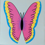 SIMPLE BUTTERFLY STICKER (Sold by the dozen) CLOSEOUT 25 CENTS EA