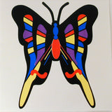 BUTTERFLY STICKER (Sold by the dozen)