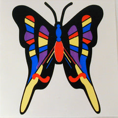 BUTTERFLY STICKER (Sold by the dozen) *- CLOSEOUT NOW ONLY 10 CENTS EA