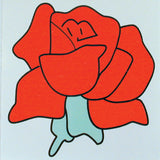 ROSE STICKER (Sold by the dozen)