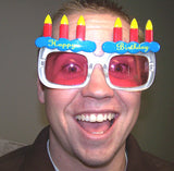 HAPPY BIRTHDAY PARTY GLASSES (Sold by the piece or dozen )