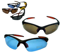 COLORED LENSE OPEN FRAME SUNGLASSES (Sold by the dozen)