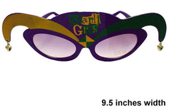 MARDI GRAS PARTY GLASSES (Sold by the piece or dozen )
