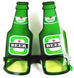 BEER BOTTLE PARTY GLASSES (Sold by the piece or dozen ) CLOSEOUT SALE $1.50 EA