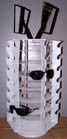 42 PAIR SUNGLASS SPINNING DISPLAY RACK (Sold by the piece) * CLOSEOUT NOW $25.00 EA