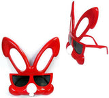BUNNY EARS PARTY GLASSES (Sold by the piece or dozen ) *- CLOSEOUT $ 1 EA