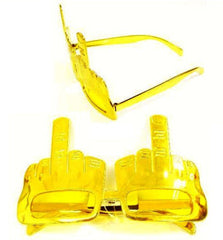 MIDDLE FINGER PARTY GLASSES (Sold by the piece or dozen )