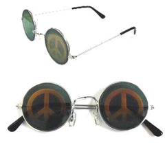 PEACE SIGN HOLOGRAM 3D SUNGLASSES (Sold by the dozen)