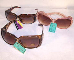 NAME BRAND LADIES ASSORTED SUNGLASSES (Sold by the dozen)