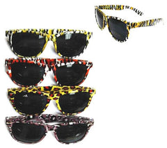 ANIMAL PRINT FRAME SUNGLASSES (Sold by the dozen) *- CLOSEOUT NOW $ 1 EACH