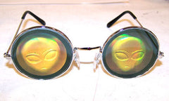 ALIEN HOLOGRAM 3D SUNGLASSES  (Sold by the piece)