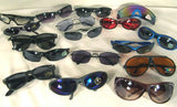 BULK LOT ASSORTED FASHION SUNGLASSES  (Sold by the DOZEN ) CLOSEOUT NOW ONLY 50 CENTS EA EA