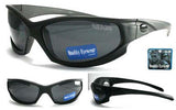 BIKER SPORTS WRAP AROUND SUNGLASSES  (Sold by the dozen)