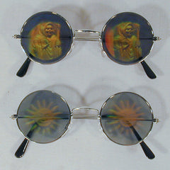 ASSORTED HOLOGRAM SUNGLASSES (Sold by the dozen)