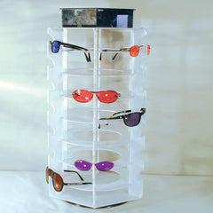 SPINNING 42 PAIR SUNGLASS RACK (Sold by the piece) *- CLOSEOUT NOW $ 25.00 EA