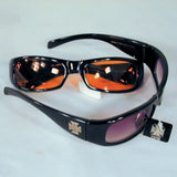 CHOPPER CROSS SUNGLASSES (Sold by the dozen)